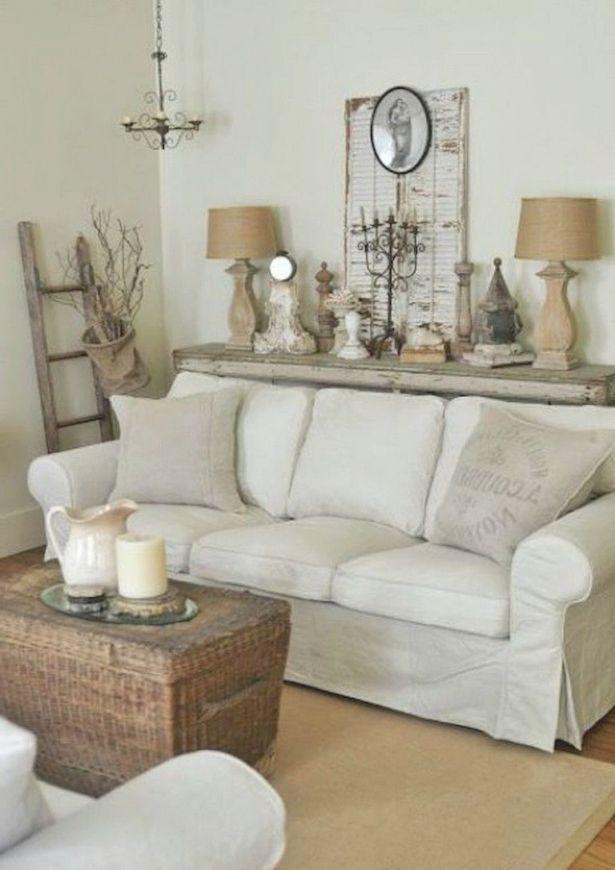 42+ Comfy Farmhouse Shabby Chic Living Room Decor Ideas inside Shabby Chic Living Room Furniture