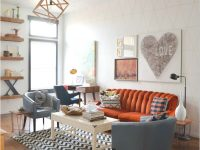 43 Comfy Clean Vintage Living Room Decorating Ideas #vintage for Retro Living Room Decor
