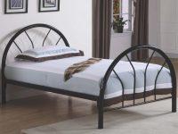4461 Brooklyn Twin Black Metal Bed throughout Luxury Twin Bedroom Furniture Set