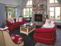 5 Ways To Decorate With Red | Hgtv intended for Luxury Burgundy And Grey Living Room