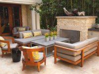 50 Outdoor Living Room Design Ideas regarding Unique Outdoor Living Room Furniture