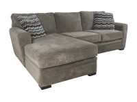 52% Off – Raymour & Flanigan Raymour & Flanigan Artemis Ii Microfiber Sectional Sofa / Sofas within Lovely Raymour And Flanigan Sectional Sofas