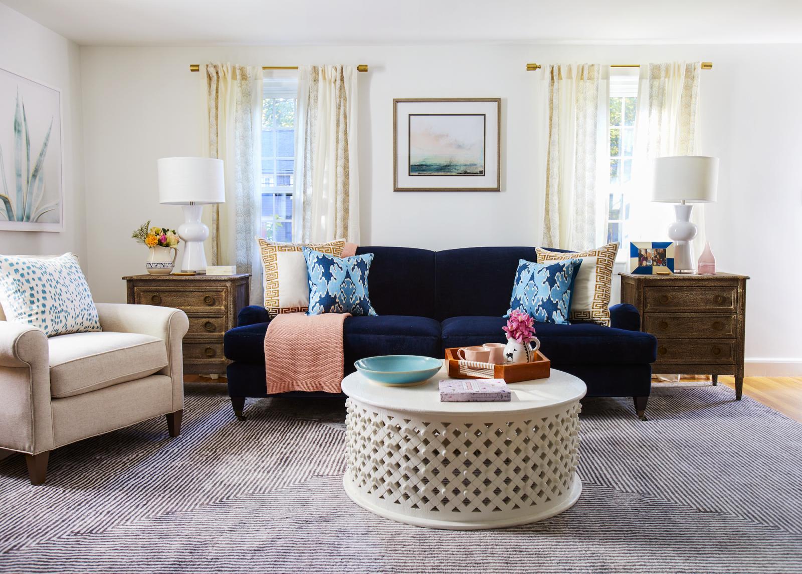 53 Best Living Room Ideas - Stylish Living Room Decorating for Elegant Turquoise Living Room Furniture
