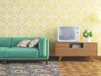 6 Decorating Tips For Retro Style within Retro Living Room Decor