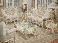 603 Aj Vinyl Polrey French Provincial Style Living Room Set with New French Provincial Living Room Furniture