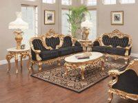 638 Aj Solid Velvet Polrey French Provincial Style Living Room with New French Provincial Living Room Furniture