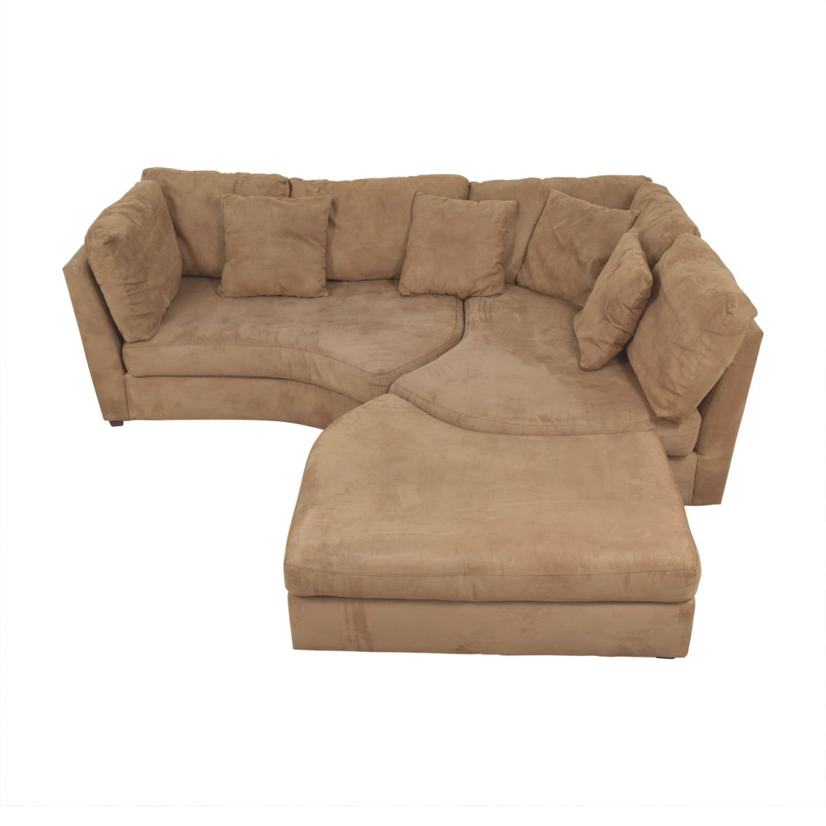 66% Off - Raymour & Flanigan Raymour & Flanigan Sectional Sofa With Ottoman / Sofas with Raymour And Flanigan Sectional Sofas