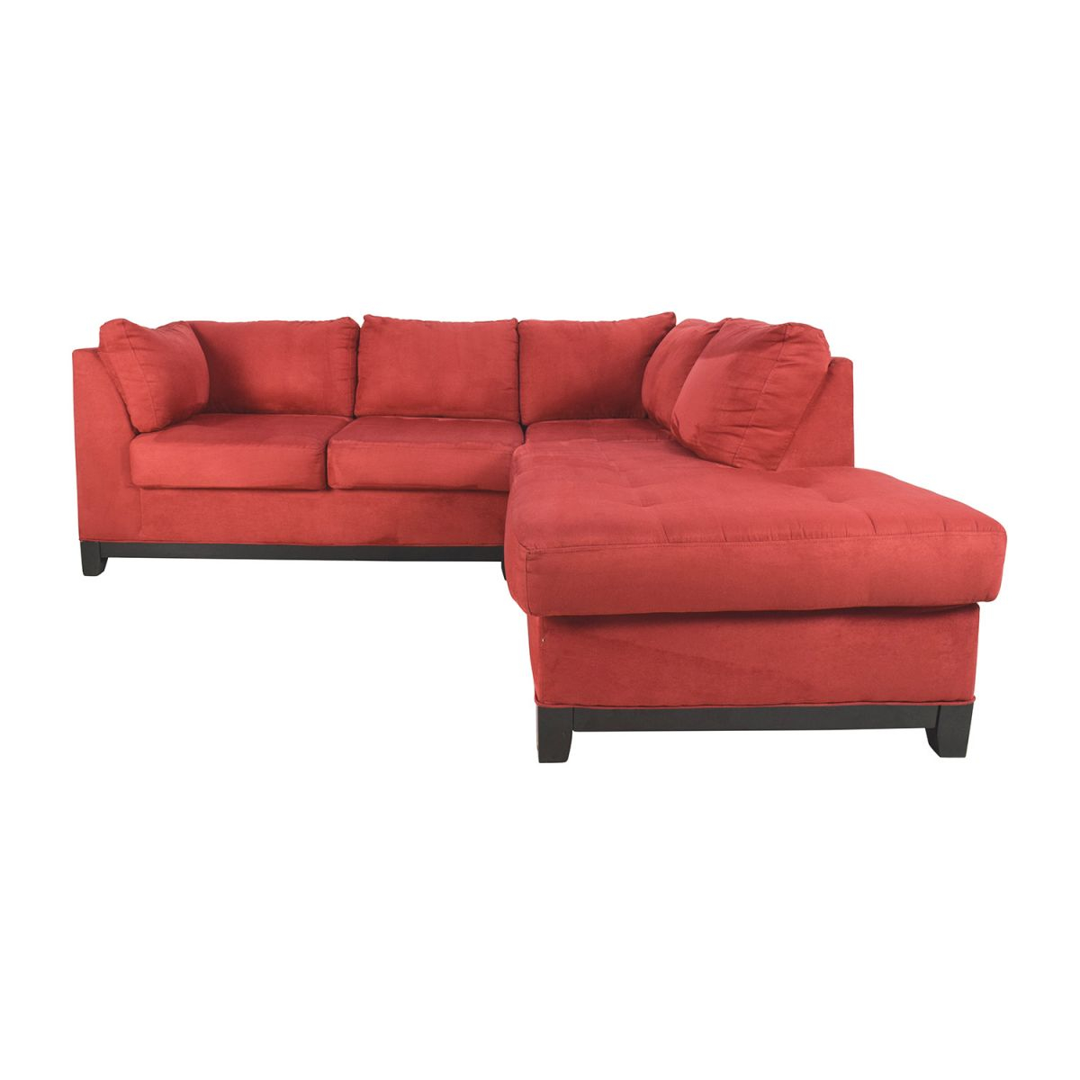 67% Off – Raymour & Flanigan Raymour & Flanigan Zella Red Sectional / Sofas with Lovely Raymour And Flanigan Sectional Sofas