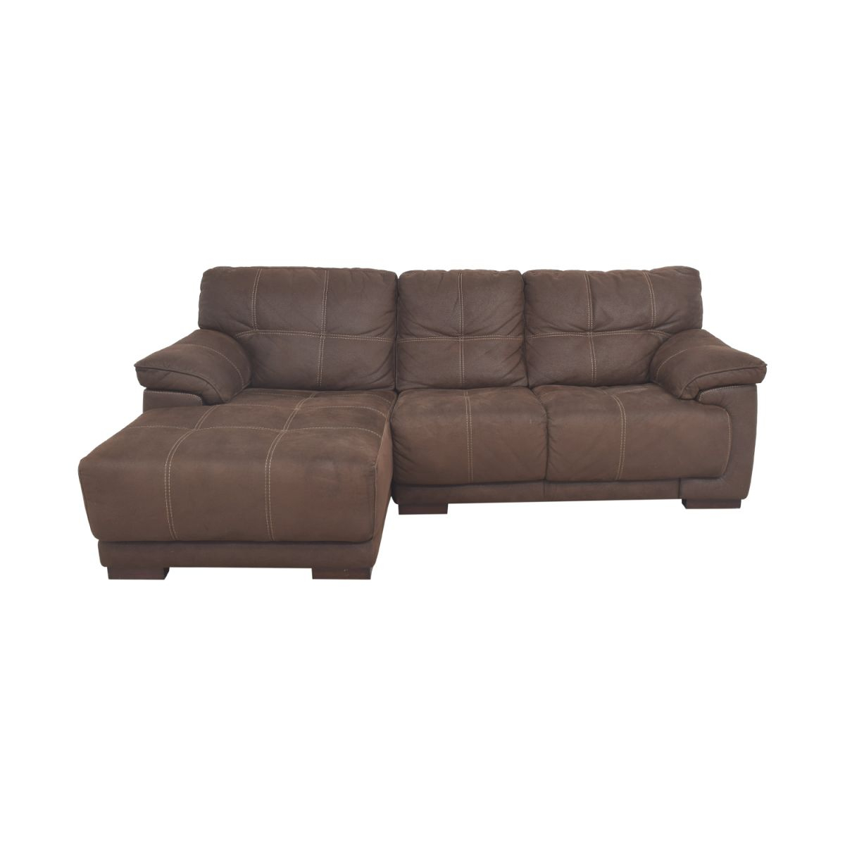 68% Off - Raymour & Flanigan Raymour & Flanigan Microfiber Sectional Sofa / Sofas throughout Lovely Raymour And Flanigan Sectional Sofas