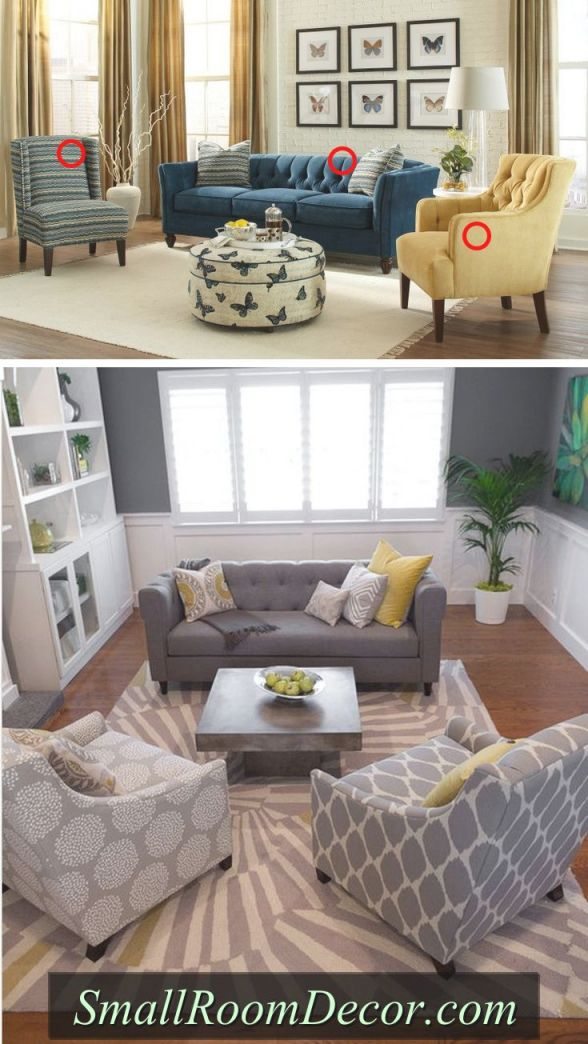 7 Couch Placement Ideas For A Small Living Room   Small in Awesome Furniture For Small Spaces Living Room