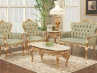 770 Bj Solid Velvet Polrey French Provincial Style Living Room Set within New French Provincial Living Room Furniture
