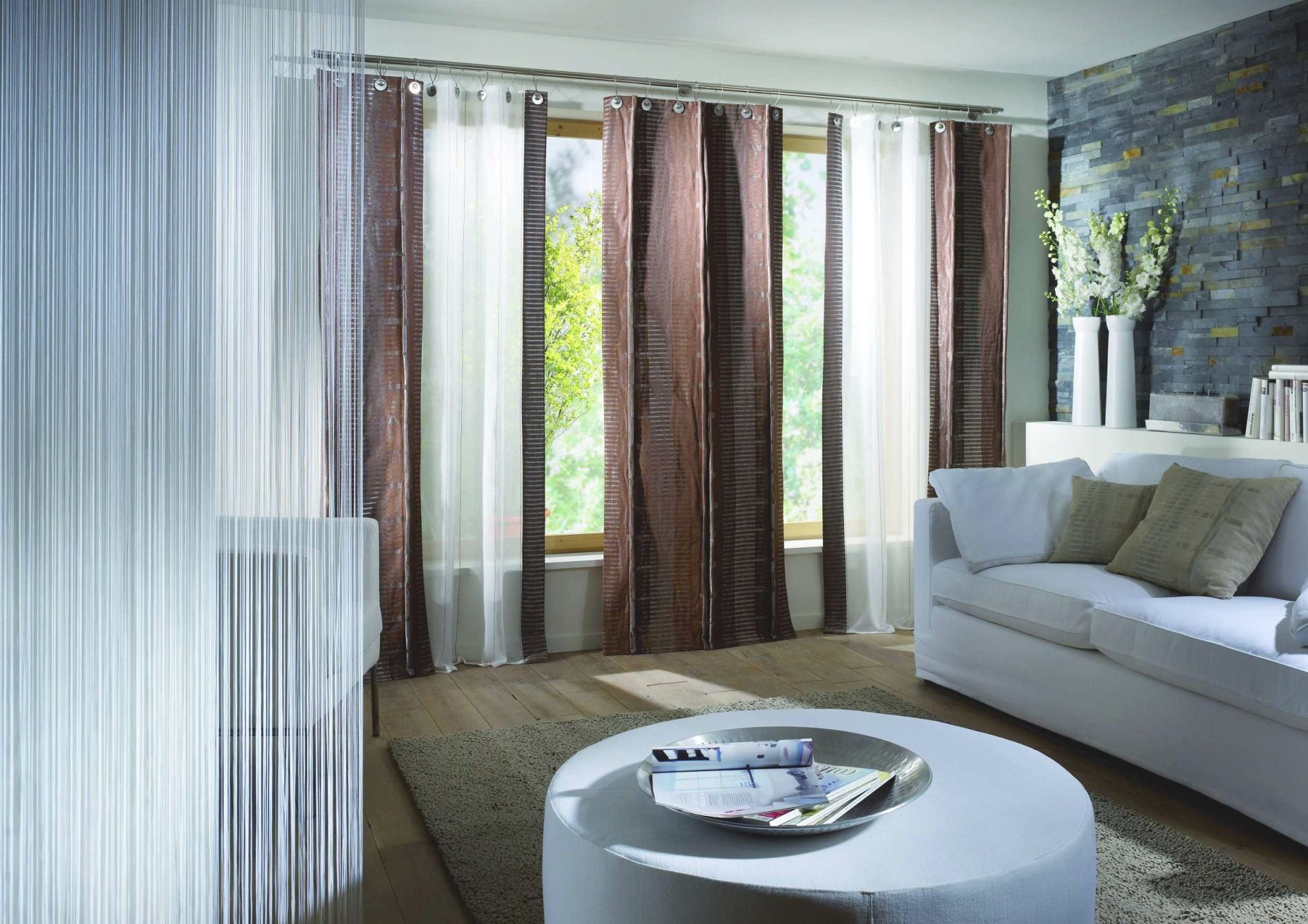8 Fun Ideas For Living Room Curtains – Midcityeast within Curtains For Living Room With Brown Furniture