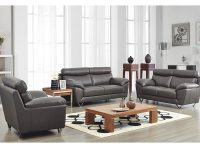 8049 Modern Leather Living Room Sofa Setnoci Design for Living Room Furnitures