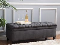 Grey-Tufted-Entryway-Bench-With-Storage-Long-And-Large-Dark-Charcoal