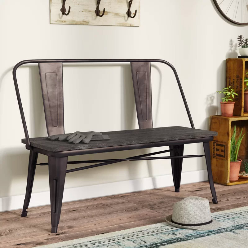Metal-Industrial-Style-Entryway-Bench-With-Wood-Seat-A-Tolis-Style