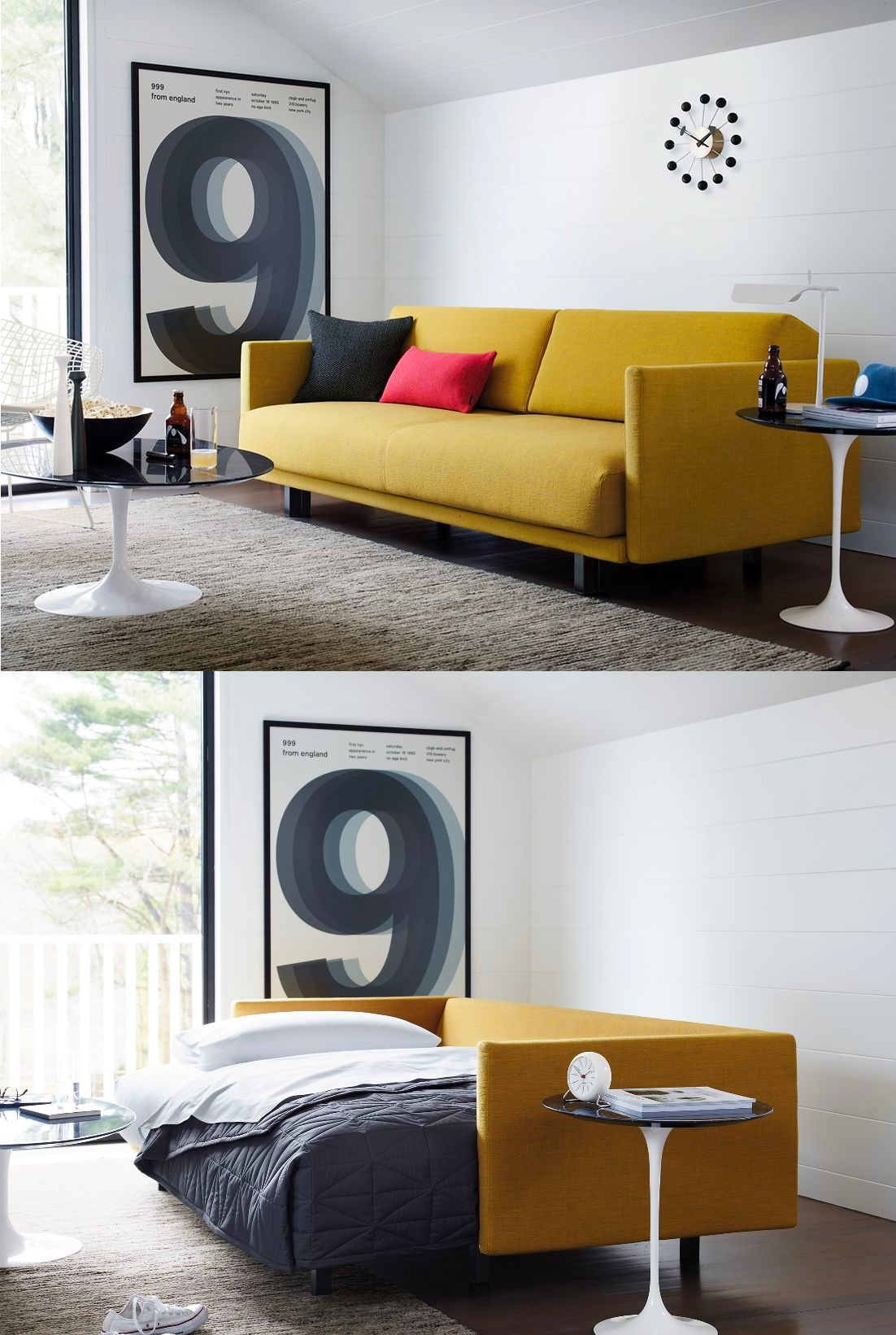 51 Sofa Beds To Create A Chic Multiuse Space That Guests