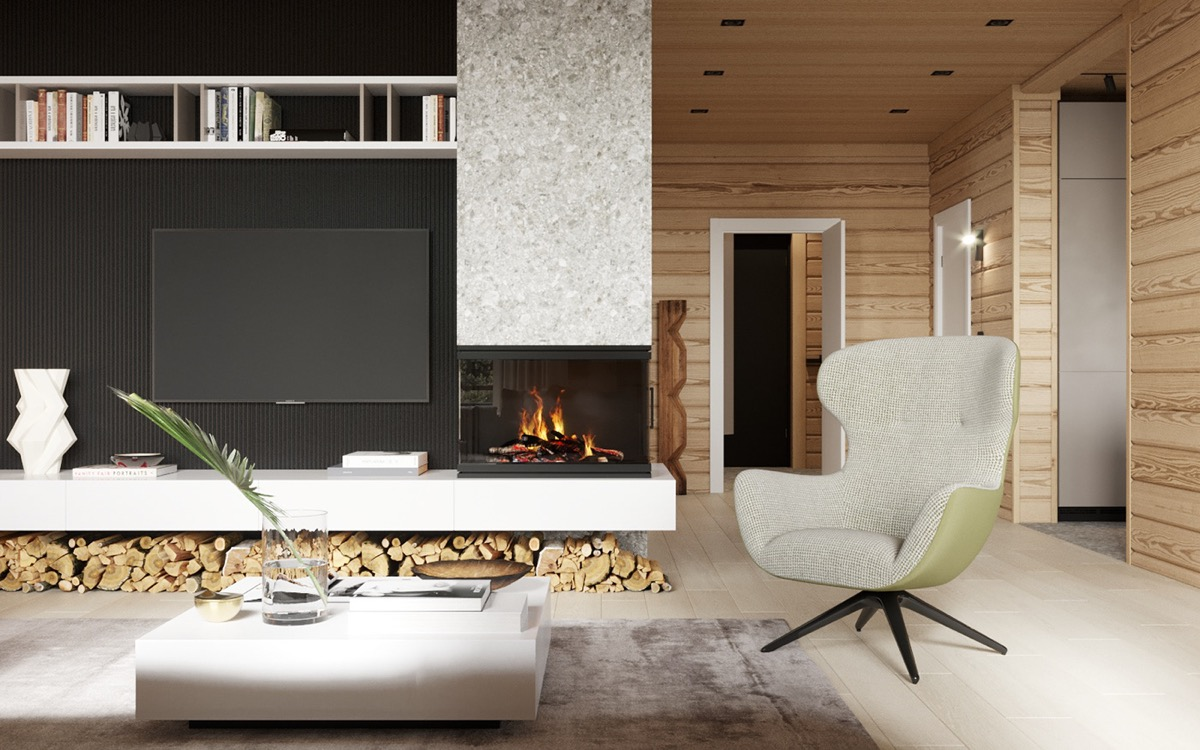 TV-and-fireplace-wall
