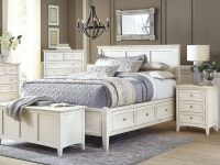 A America Northlake Queen Storage Bedroom Set 3 Pcs In White, Wood for Bedroom Set Queen White