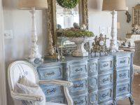 A Blue French Provincial Dresser Edith & Evelyn, French throughout French Provincial Living Room Furniture