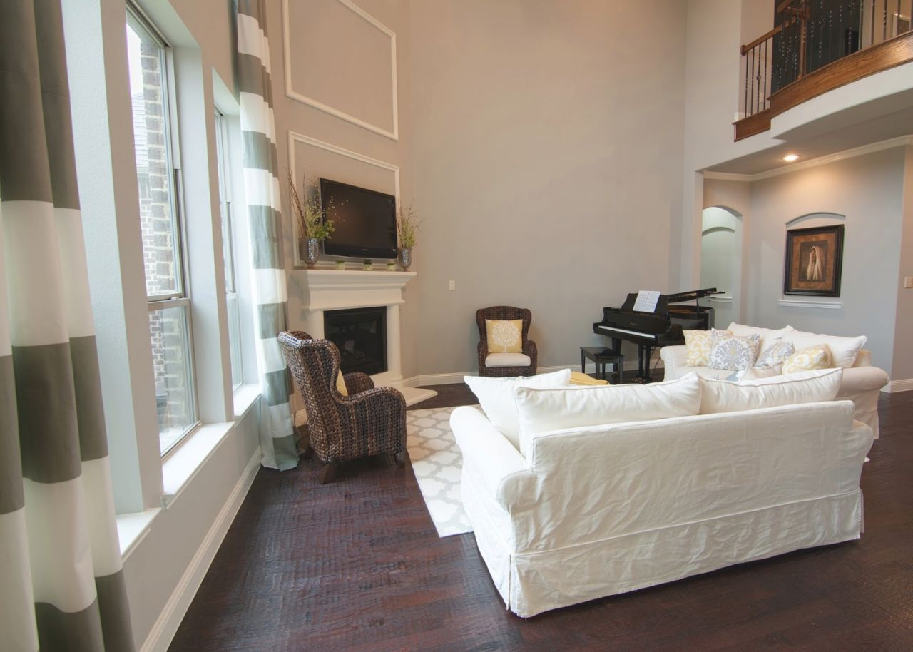 a little of this that decorating two story wall piggy regarding 2 story living room decorating ideas