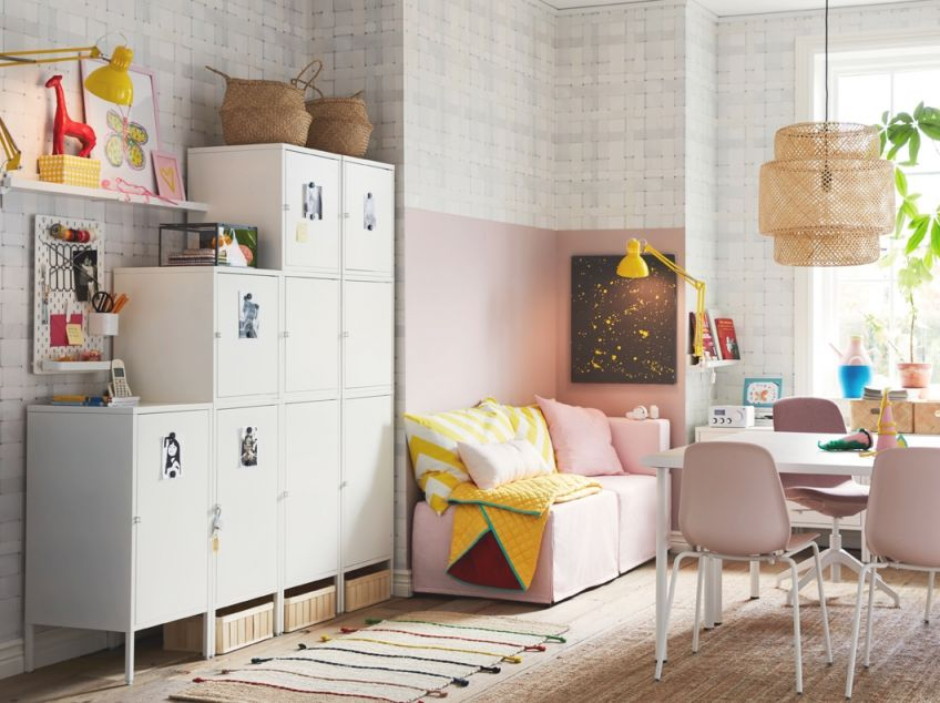 A Locker For Everyone In The Family – Ikea intended for Best of Ikea Wall Cabinets Living Room