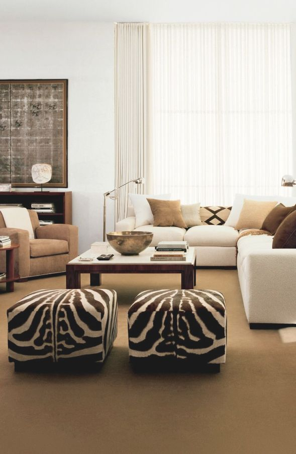 African Safari Themed Living Room | Living Room for African Decor Living Room