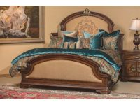 Aico Michael Amini Grand Masterpiece Panel Bedroom Set with regard to Grand Furniture Bedroom Sets