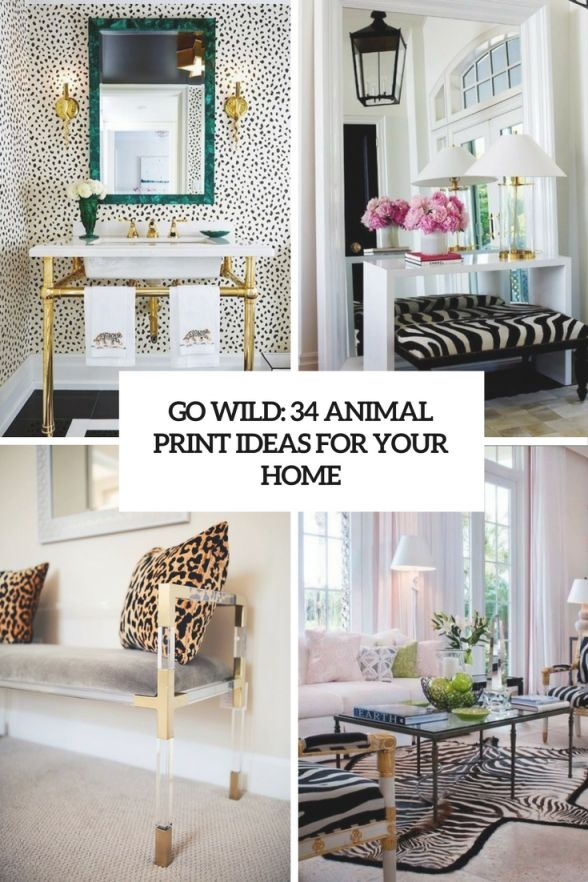 Animal Print Decor Archives – Digsdigs for Animal Print Living Room Decor