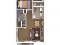 Apartments In Indianapolis | Floor Plans with regard to One Bedroom Apartment Floor Plans