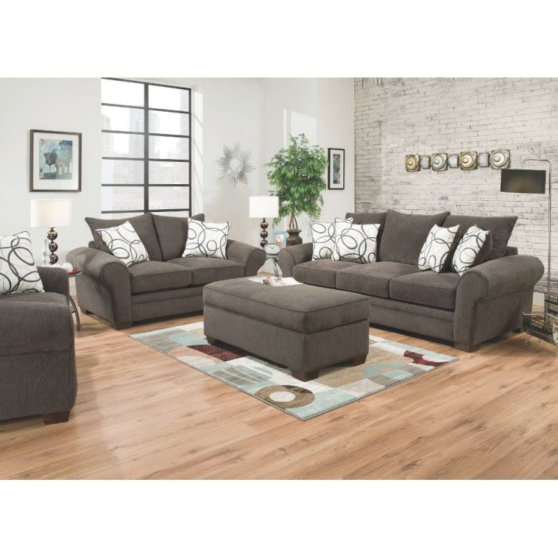 Apollo Living Room - Sofa & Loveseat (548) with regard to Elegant Living Room Furnitures