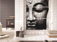 Appealing Modern Wall Painting Ideas For Living Room Grey with Decorating Walls In Living Room