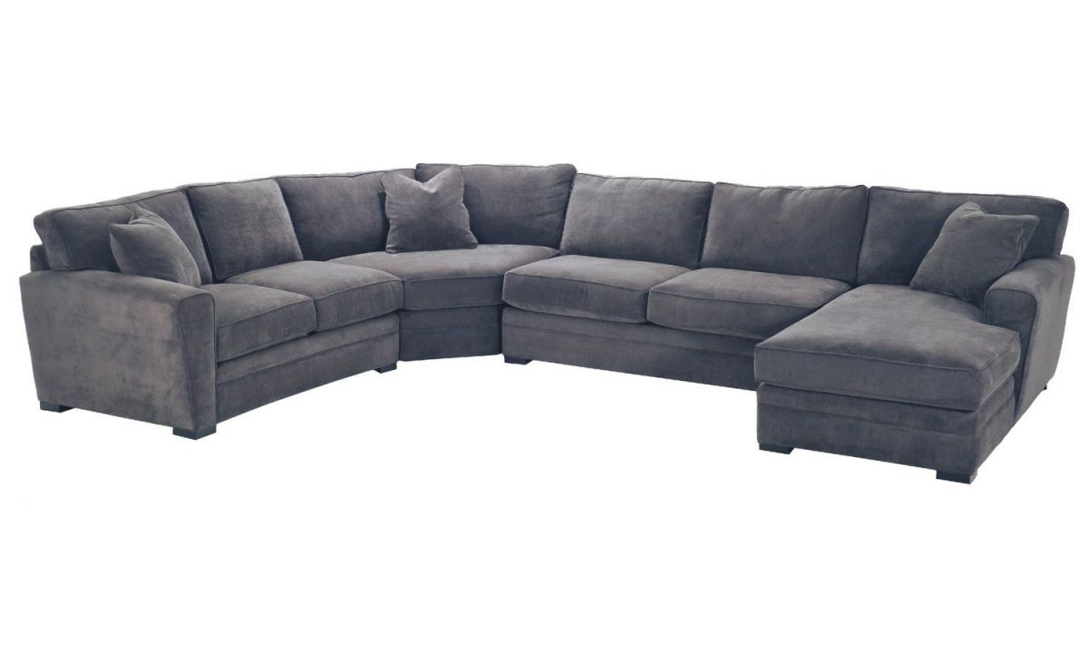 Artemis 4 Piece Sectional within Lovely Raymour And Flanigan Sectional Sofas
