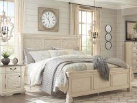 Ashley Furniture Bolanburg White 2Pc Bedroom Set With Queen Bed intended for Luxury Bedroom Set Queen White