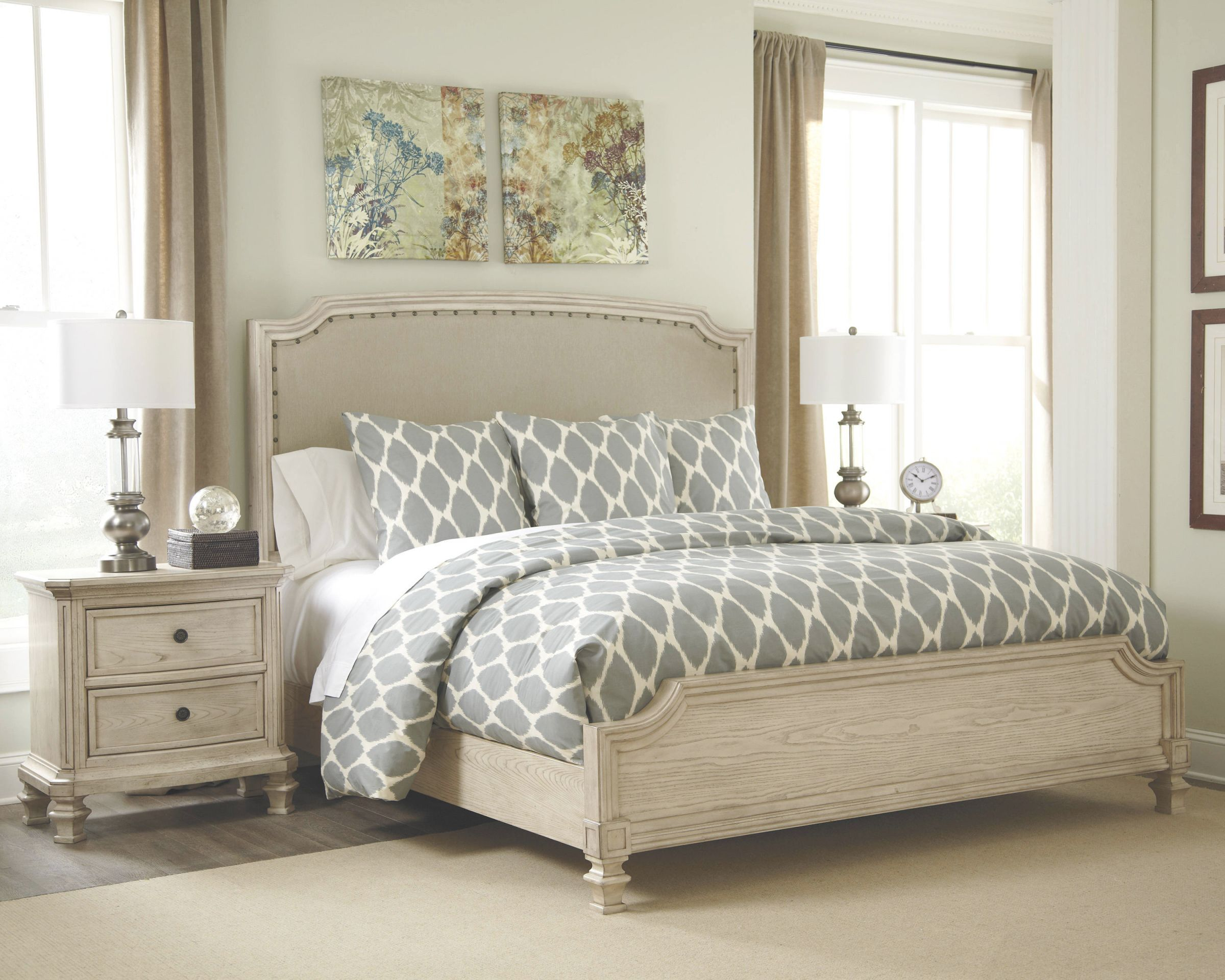 Ashley Furniture Demarlos 2pc Bedroom Set With Cal King Bed Inside Awesome Ashley Furniture King Size Bedroom Sets Awesome Decors
