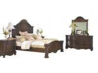 Ashley Furniture North Shore 5 Pc Bedroom Set: E King Panel Bed Dresser Mirror 1 Nightstand Chest Dark Brown throughout Lovely Ashley Furniture North Shore Bedroom Set