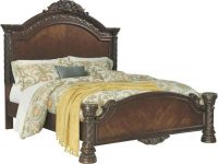 Ashley Furniture North Shore Panel Bedroom Set In Dark Brown intended for Ashley Furniture North Shore Bedroom Set
