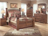 Ashley Furniture Timberline 2Pc Bedroom Set With Queen Poster Bed within Discontinued Ashley Furniture Bedroom Sets