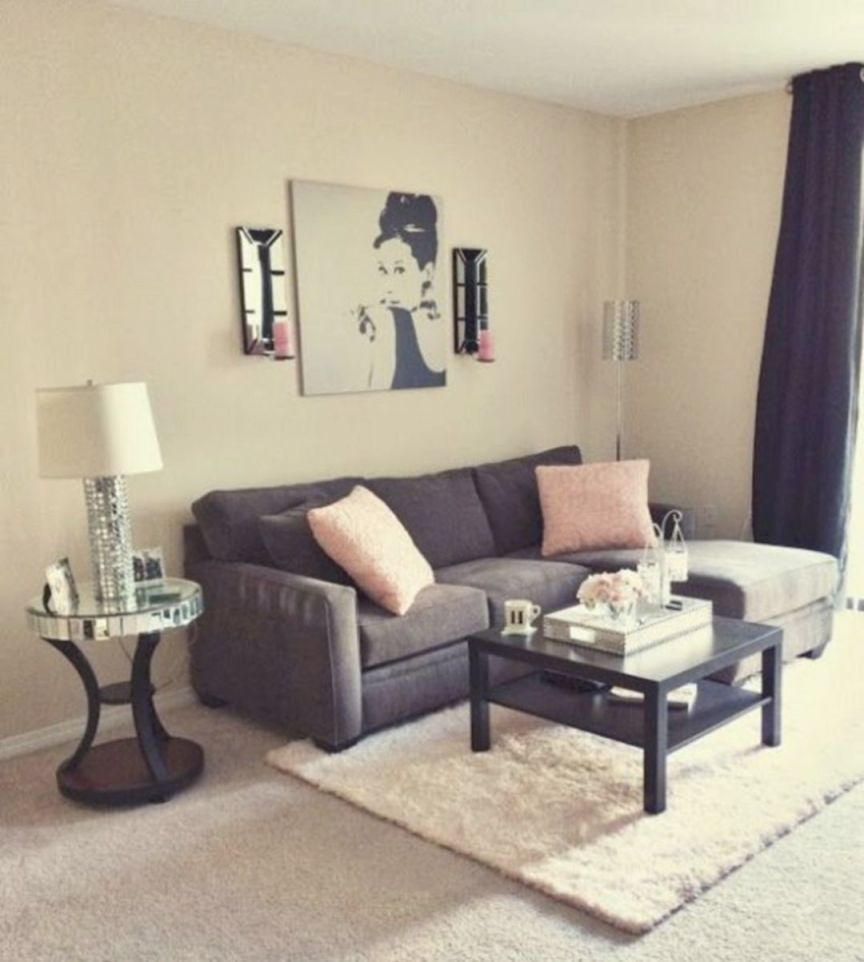 Awesome Apartment Living Room Decorating Ideas On A Budget inside