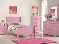 B291 Pink Louis Phillip Bedroom Set regarding Elegant Pink Bedroom Furniture Sets