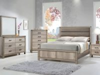 B3200 Matteo Rustic Bedroom Setcrown Mark within Rustic Bedroom Furniture Sets