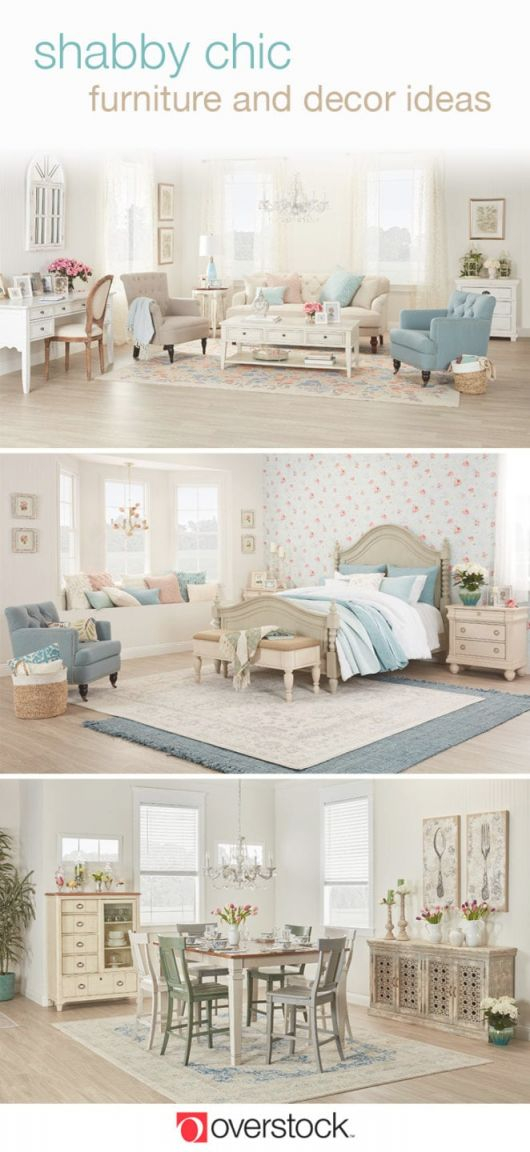 Beautiful Shabby Chic Furniture & Decor Ideas | Overstock inside Shabby Chic Living Room Furniture