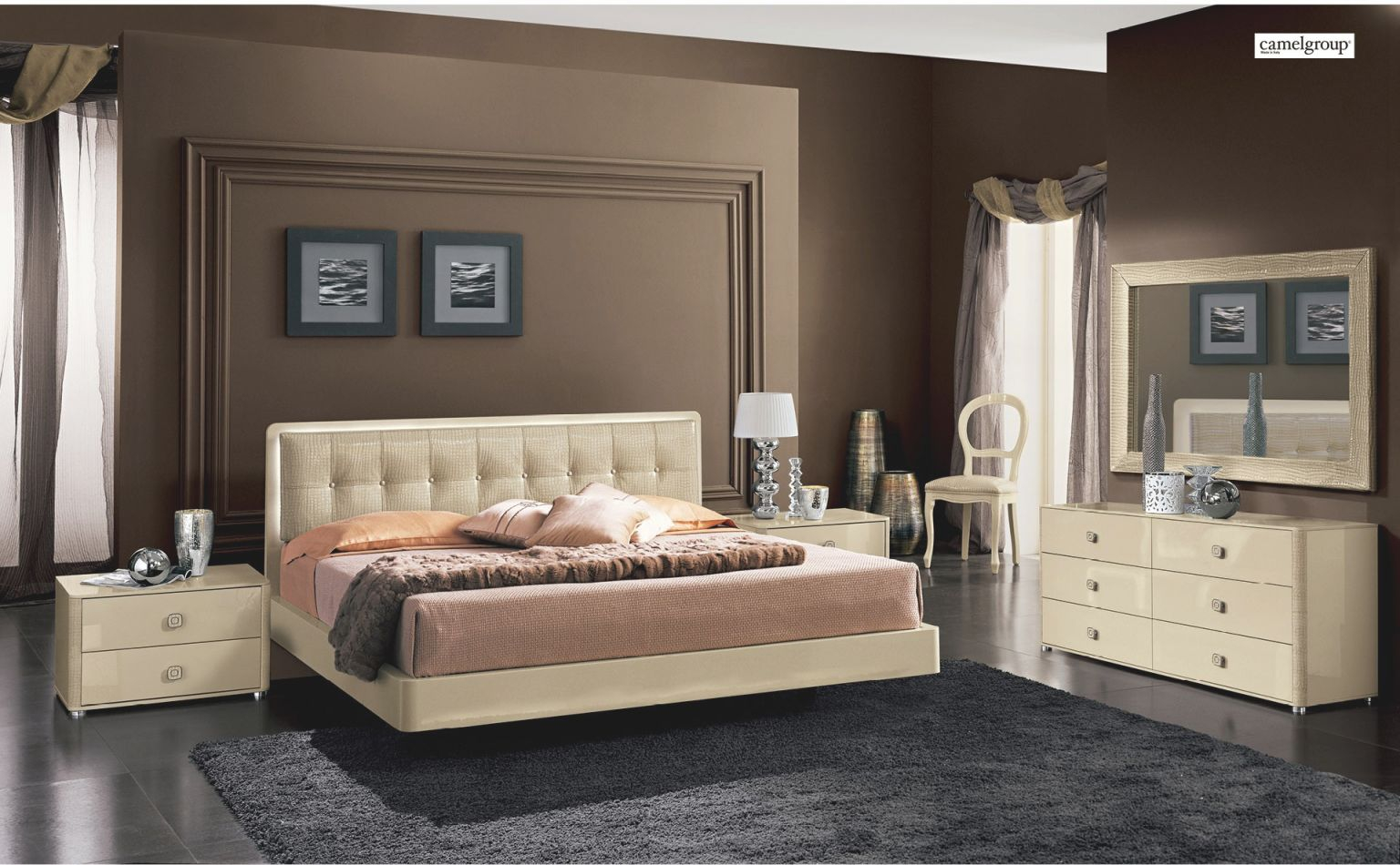 Bedroom Design Furniture Modern Bedrooms La Star Beige Intended For Contemporary Bedroom Furniture Sets Awesome Decors