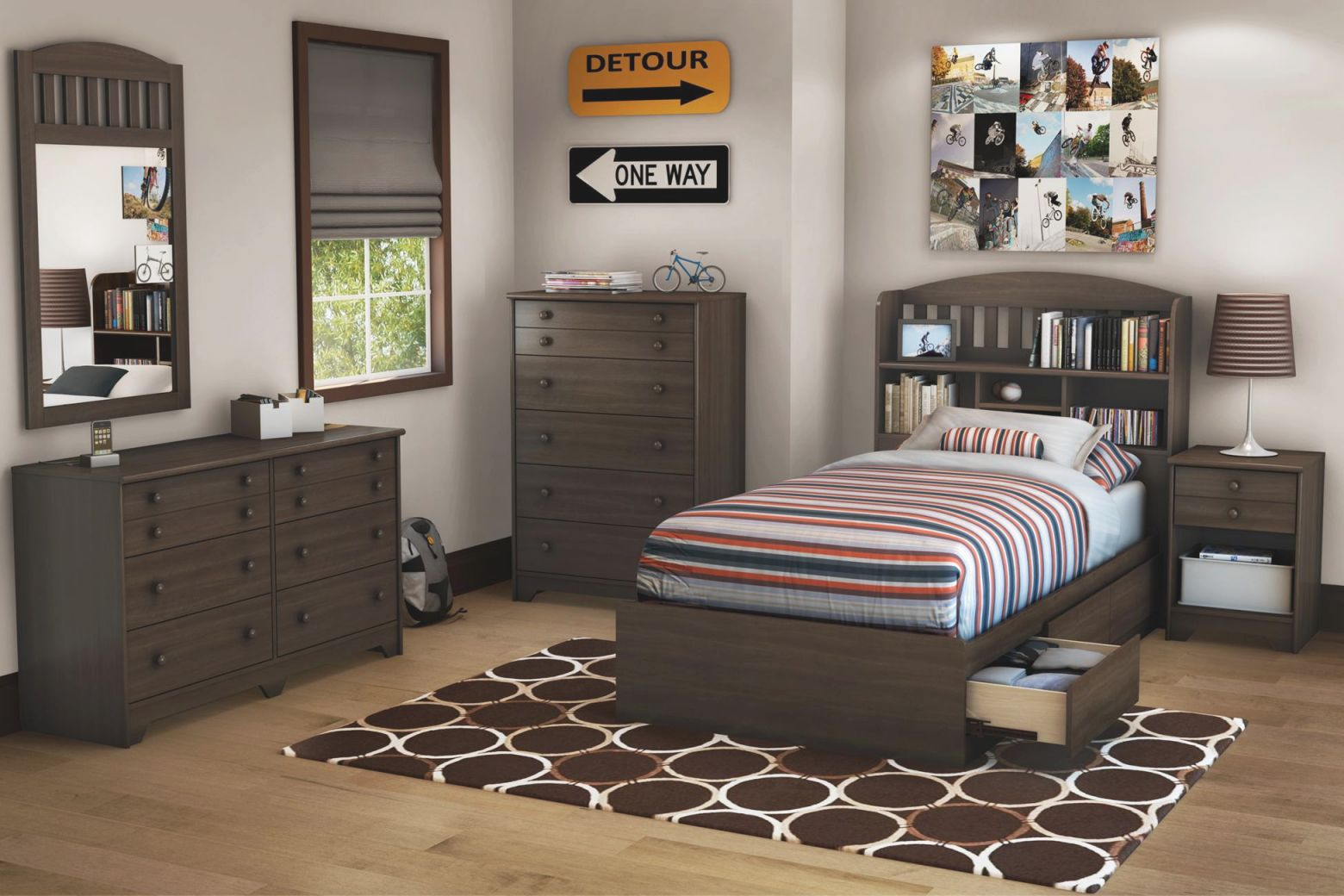 Bedroom Design : Twin Sets Ideas For Boys Cheap Cool Decor in Luxury Twin Bedroom Furniture Set