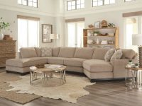 Beige 3 Piece Sectional Sofa With Laf Chaise – Pisces | New with 3 Piece Sectional Couch
