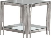 Best Quality Furniture 3-Piece Glass Top Coffee And End Table Set pertaining to Elegant 3 Piece Glass Coffee Table Set