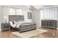 Best Quality Furniture 3-Piece Victoria Bedroom Set W/ Extra Nightstand And Vanity Set pertaining to Fresh Bedroom Set With Vanity