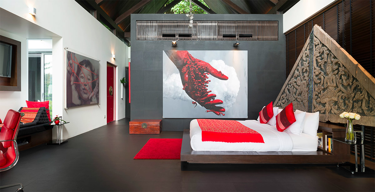 black-and-red-bedroom-decor