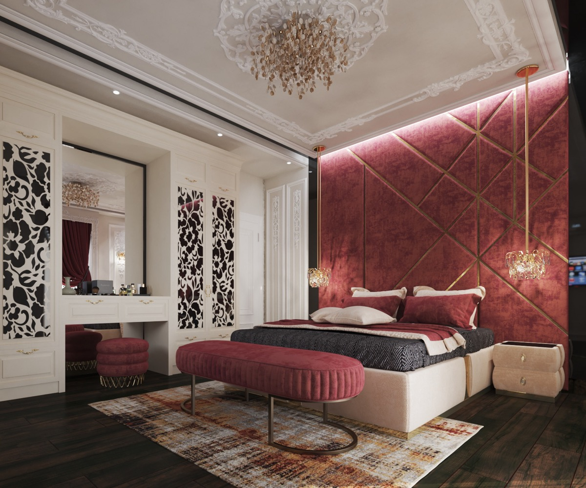 Black White And Red Bedroom Decorating Ideas Awesome Decors
