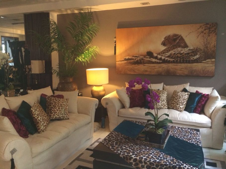 Burgundy,teal And Leopard Print Living Room Decor | Same inside Animal Print Living Room Decor