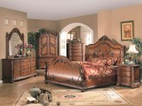 Cal King Bedroom Set – Traditional Wood Bed Furniture intended for King Bedroom Furniture Sets